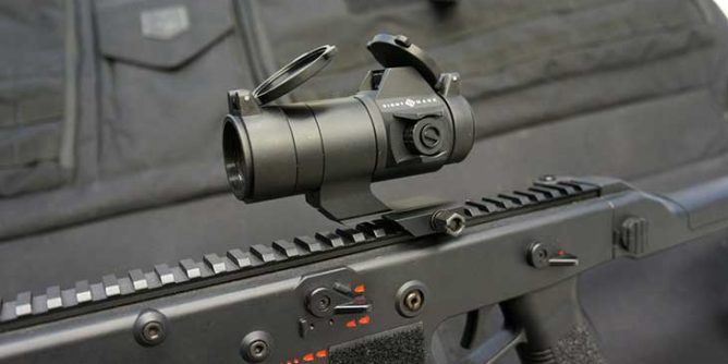 Red dot sight vs low power scope